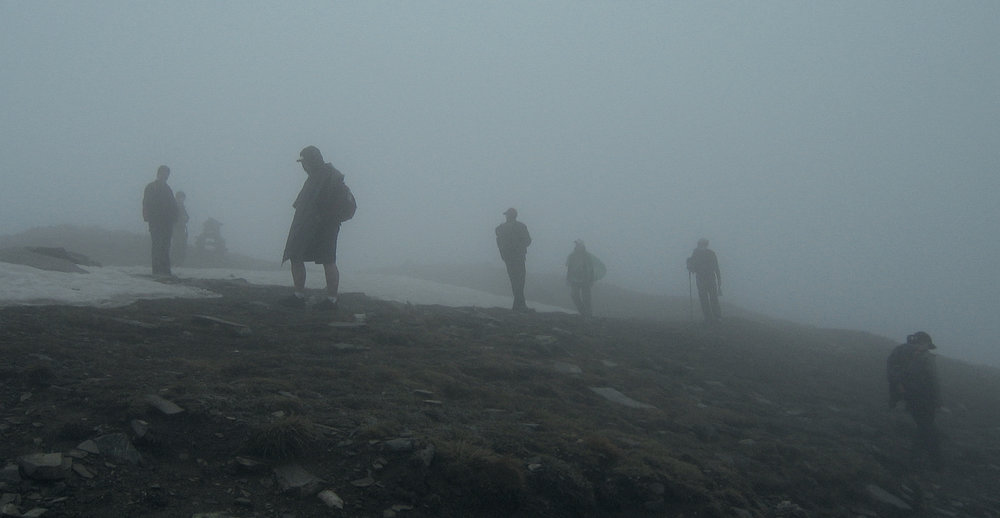 Fog in Rila Mountains