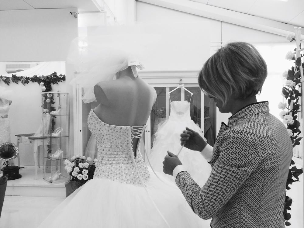 In Atelier a disposizione un ampia selezione di abiti da sposa 4a5feb30f9e