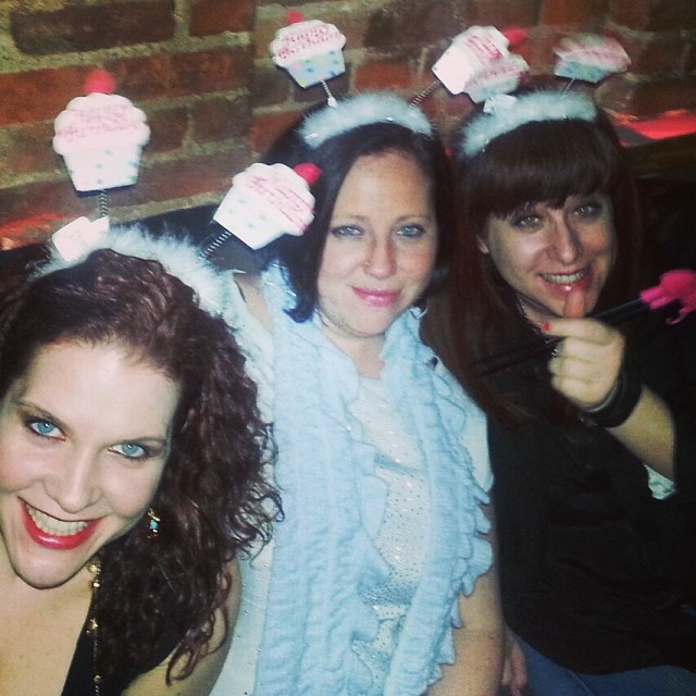 #cupcake headband make a party better!!!!!