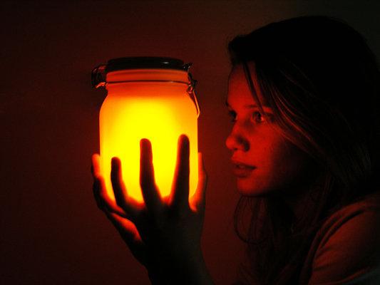 Solar Lamp Sun Jar Exit9 Gift Emporium