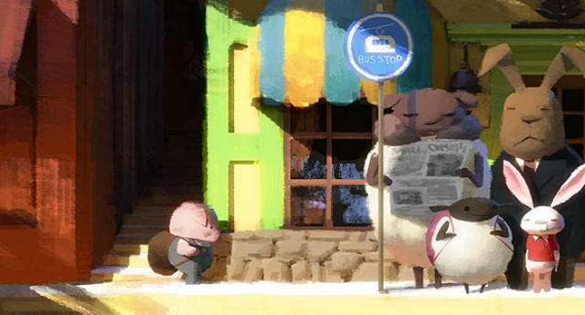 The Dam Keeper (Dice Tsutsumi / Robert Kondo)