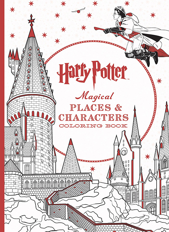 If Youre An Harry Potter Fan And Are Ready To Colour For Hours I Think These Books You