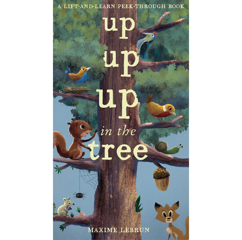 Up Up Up in the tree- Caterpillar Books