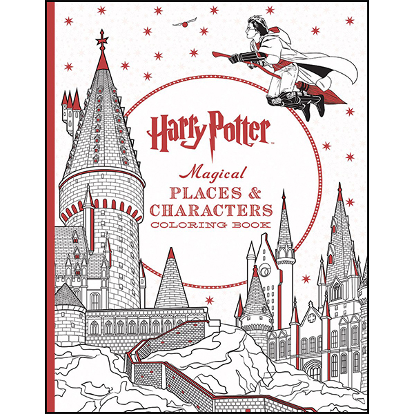 Harry Potter Colouring book - Warner Bros