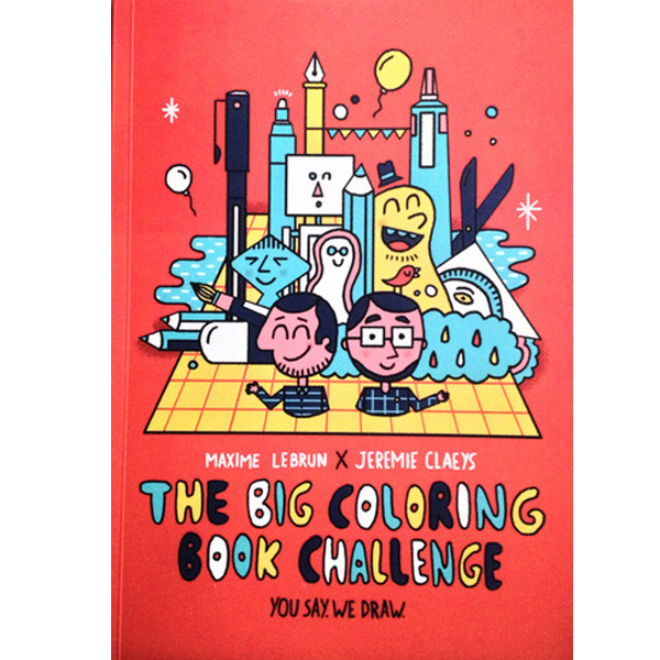 The big coloring book challenge