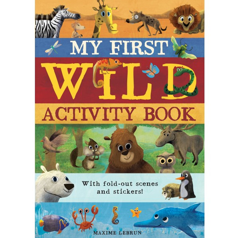 My first wild activity book-Caterpillar Books