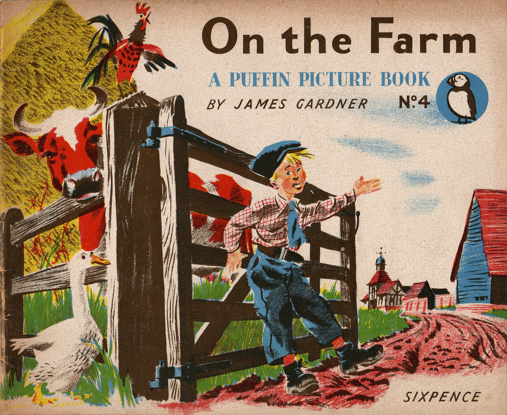 Puffin Picture Books — DESIGN FOR TODAY