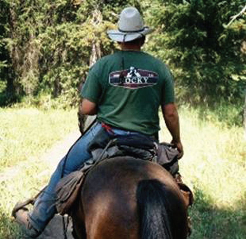 How NOT to sit in the saddle. Sitting balanced benefits your horse and helps you ride better too.