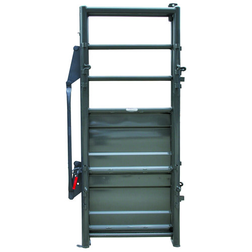 Sheeted Adjustable Alley Gate - SAAG