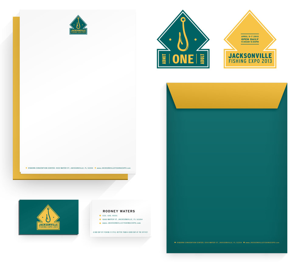 Jacksonville Stationary Set