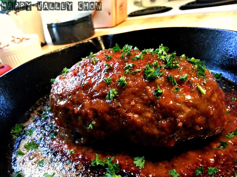 Sous Vide Meatloaf W Chipotle Honey Glaze Happy Valley Chow