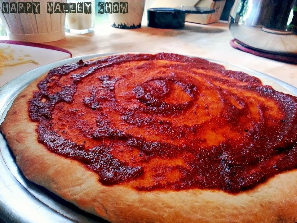 NY style pizza dough & Homemade Pizza Sauce