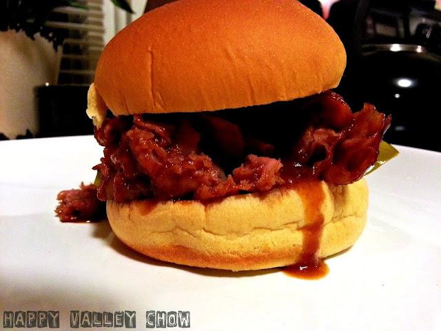 BBQ Ham Sandwich