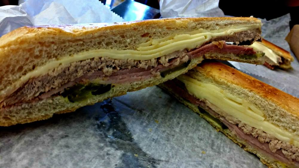 Cuban Sandwich in Miami