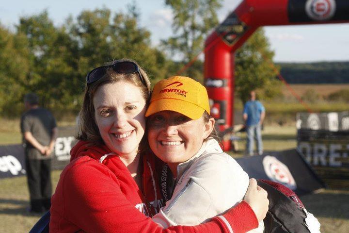 Sara + Krista, North Face 50 Miler, Sept. 17, 2011