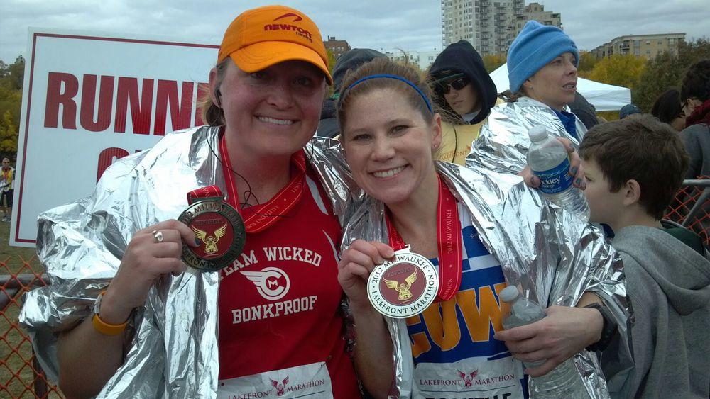2012 Lakefront Marathon: 3:57:04