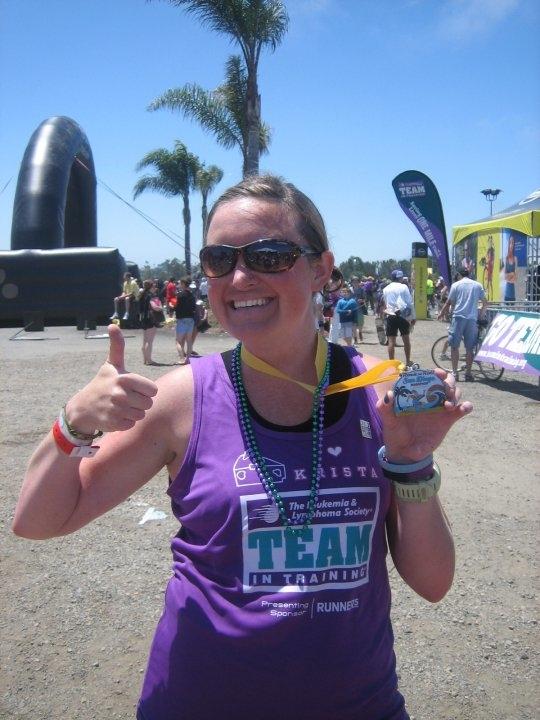 2010 San Diego Rock N Roll Marathon: 3:58:34