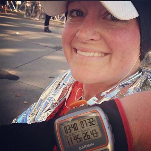 2013 Madison Marathon: 3:40:30