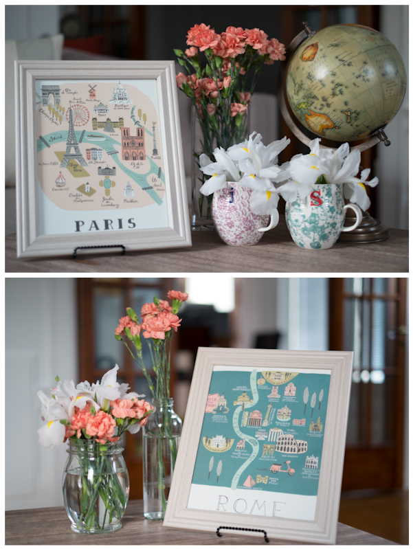 """Paris"" and ""Rome"" Table Names"