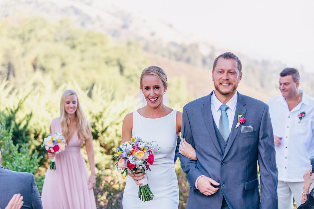 Peyton & Jason | Big Sur Bakery | Big Sur, CA   Event Design & Planning, Floral Design