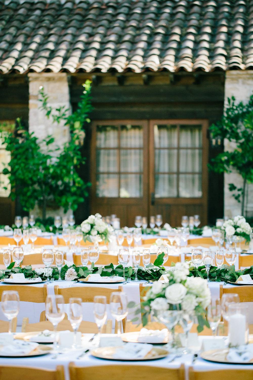 Brittany & Justin | Holman Ranch | Carmel, CA   Event Design & Planning, Floral Garlands, Signage