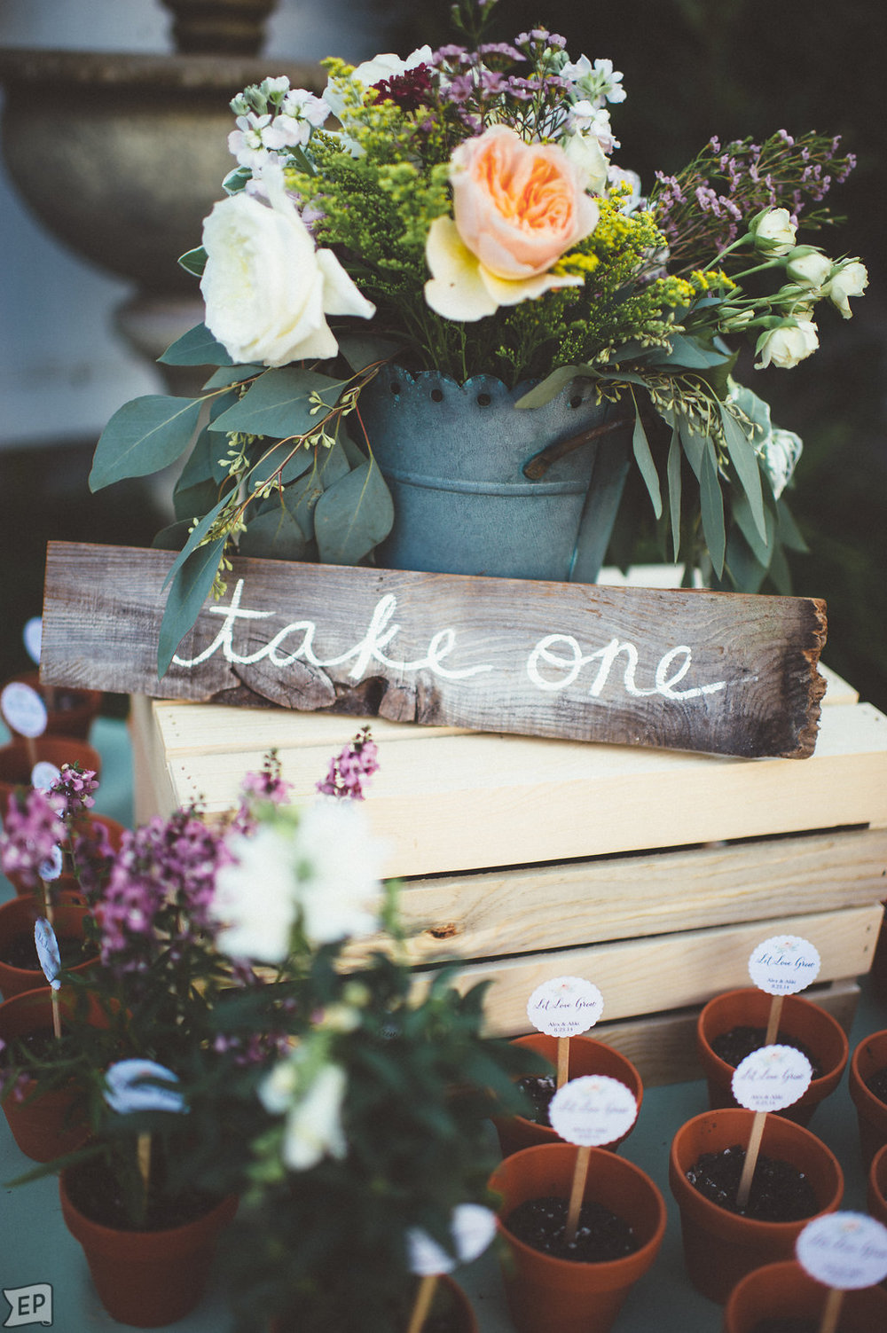 Alex & Aliki | The Perry House | Monterey, CA   Event Design & Planning, Floral Design, Signage, Favors