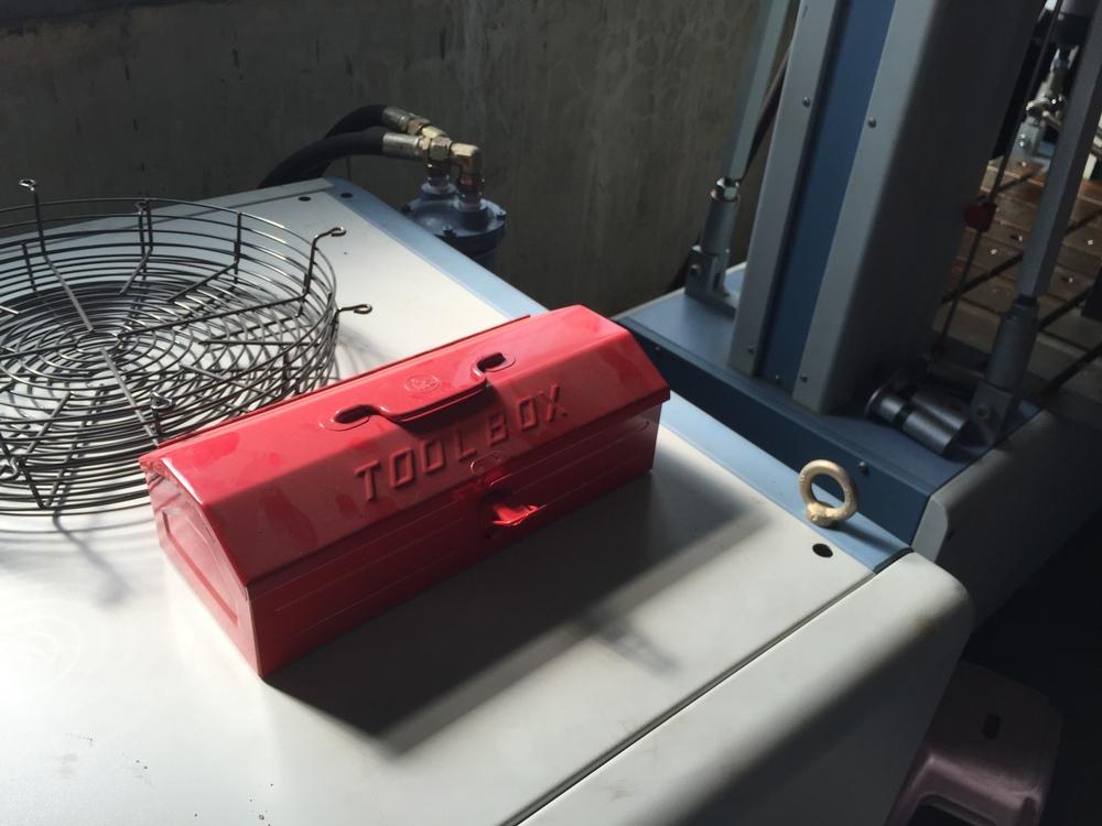 Pretty nice tool box.