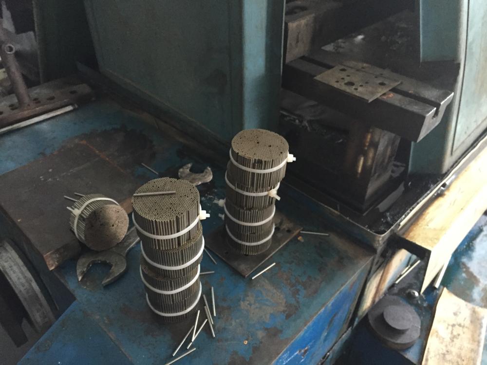 EDM cut tubing bundles