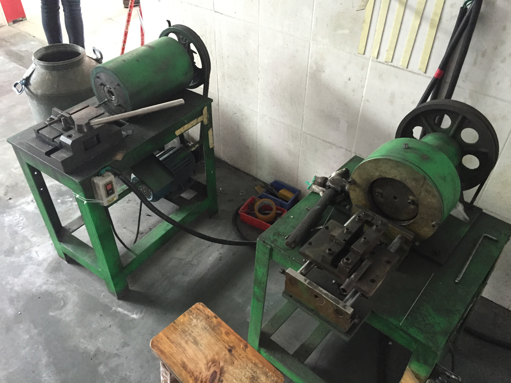 Swaging machines
