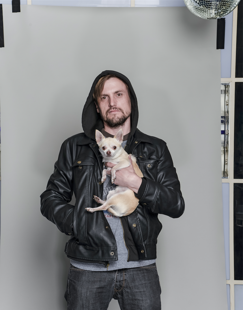 Me & my beloved Rocco | photo: jurek