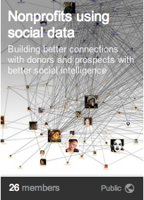Nonprofits using social data