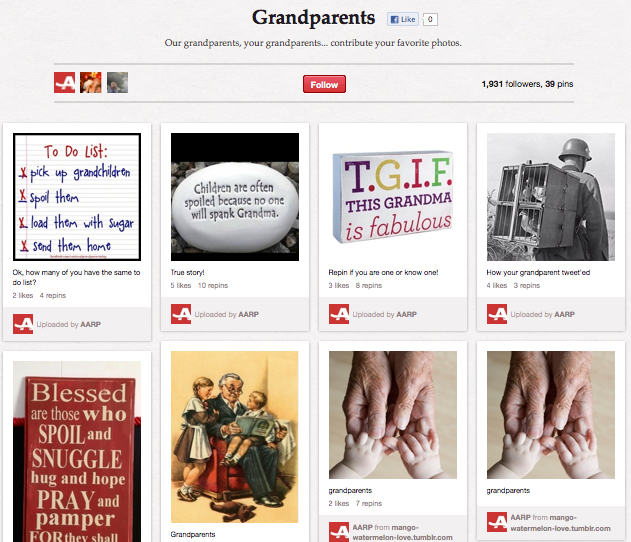 AARP on Pinterest