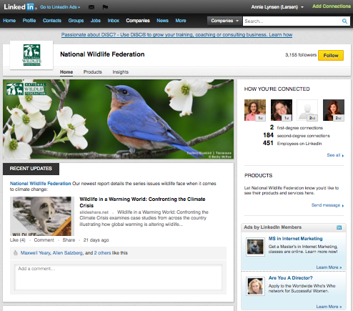 NWF on LinkedIn