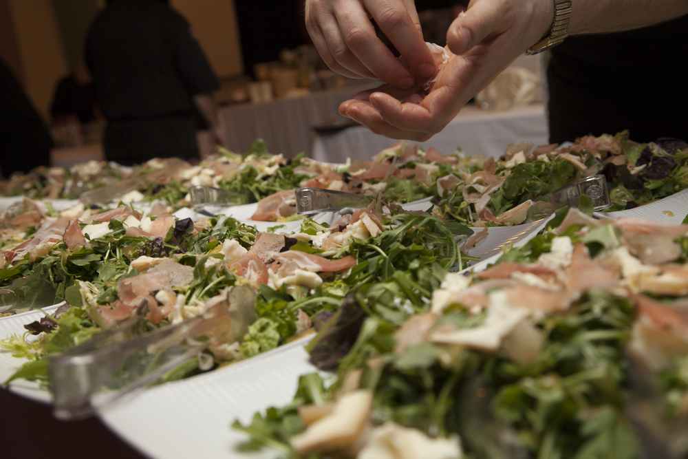 Our commitment is to finish as much of the food at the event site as close to service as possible to make sure it is as beautiful as it is delicious and fresh.