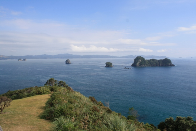 View on the hike to Hot Water Beach, Coromandel Peninsula