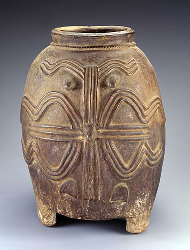 Storage vessel   Kurumba peoples Burkina Faso Mid 20th century, Ceramic