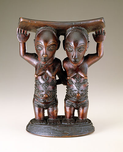 Headrest   Master of Mulongo Luba peoples Democratic Republic of the Congo Mid-late 19th century, Wood