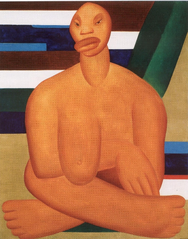 The Negress (La Negra), 1923 Tarsila do Amaral
