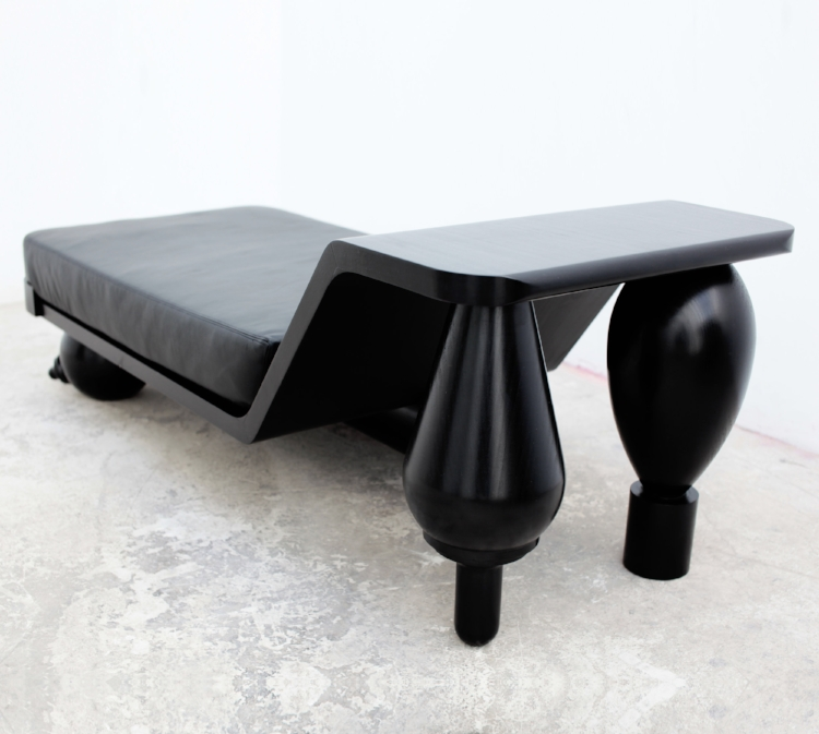 Simone Brewster Negress Chaise Lounge bespoke sculptural furniture