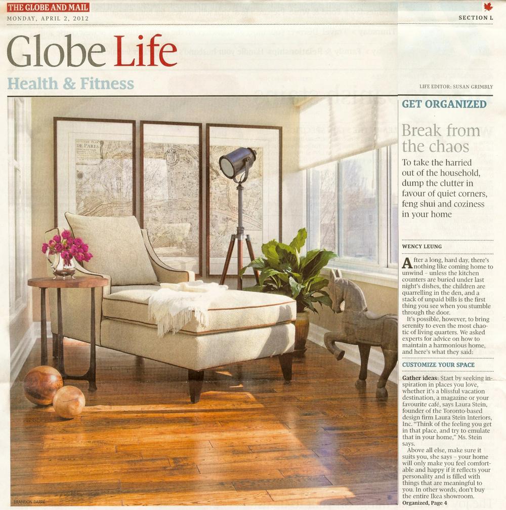 Globe and Mail, Laura Stein