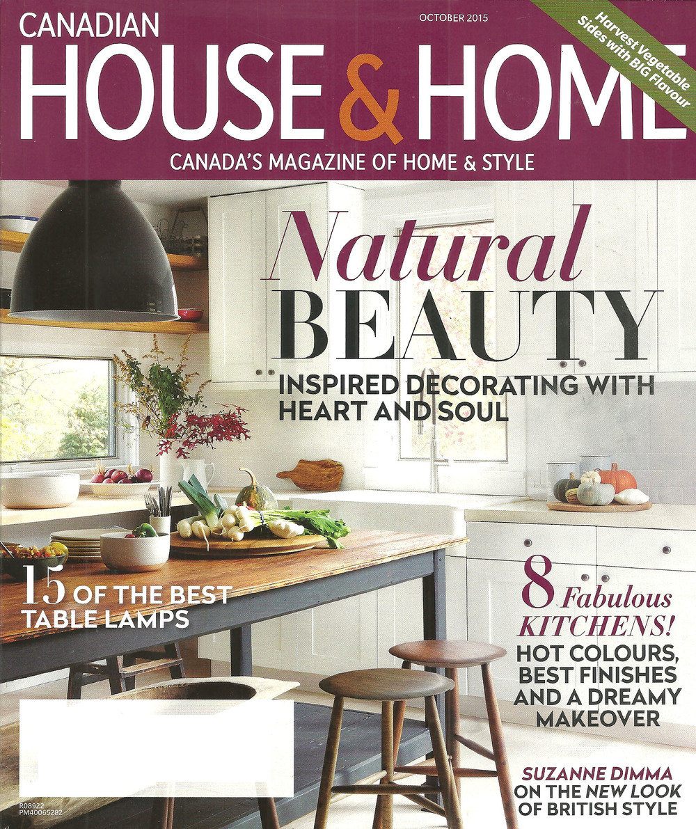 Canadian House And Home, October 2015