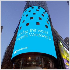 Windows 8 Times Square Launch