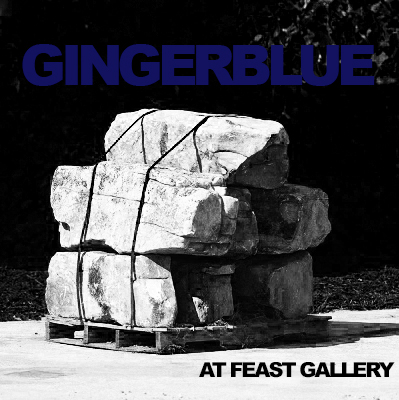 GINGERBLUE AT FEAST -
