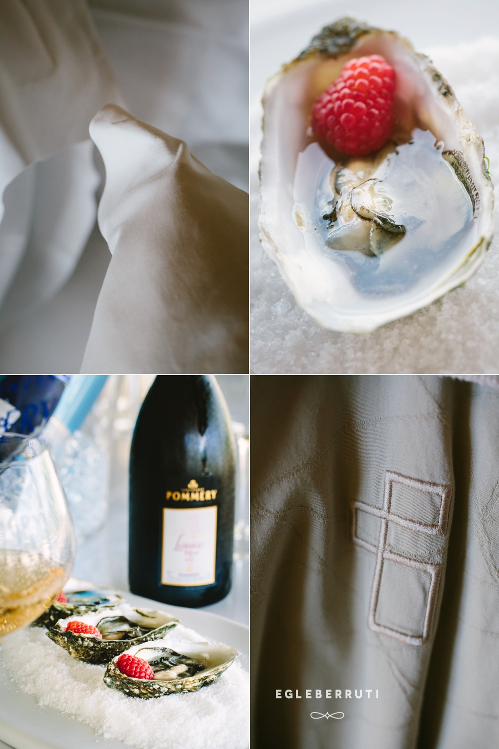 oysters and champagne by Egle Berruti