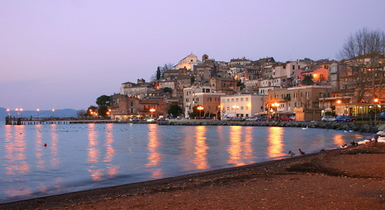 Lake and Town of Bracciano