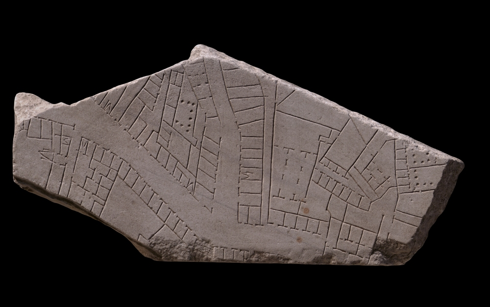 A fragment of the Forma Urbis