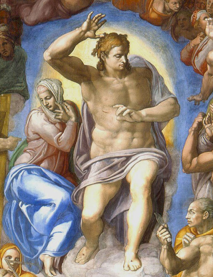 The Torso inspired Michelangelo to paint the Sistine Chapel