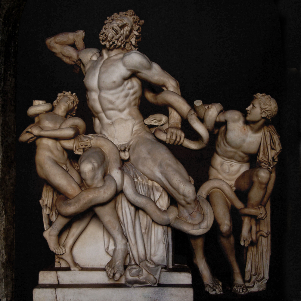 The stunning group of the Laocoon and His Sons