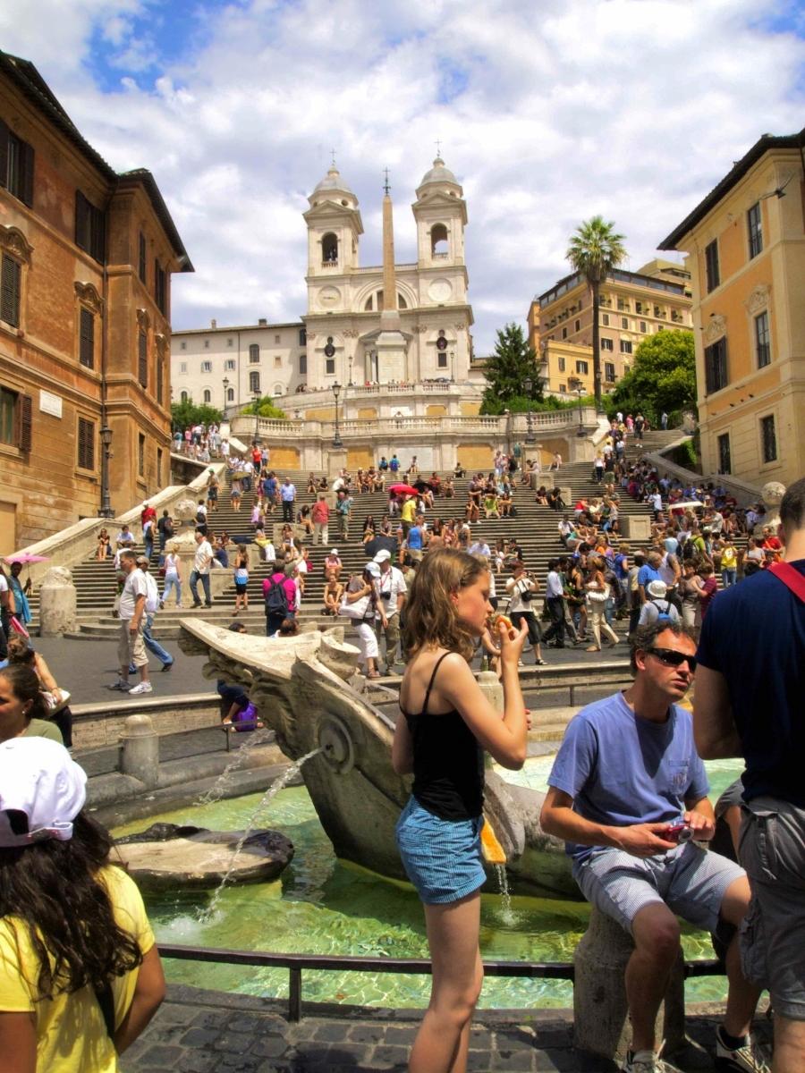 Spanish Steps in #Rome