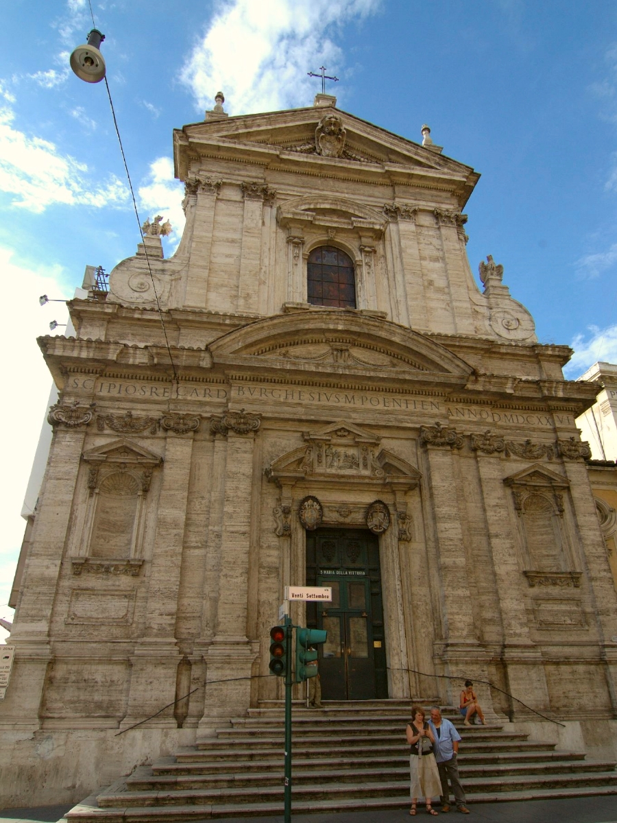 Church of Our Lady of Victory in Rome, designed by Carlo Maderno
